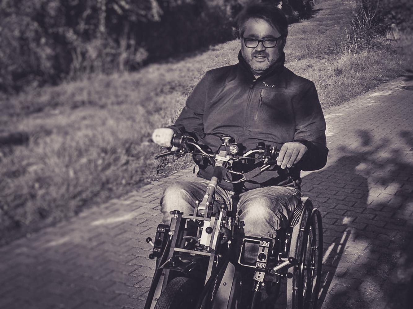 Unterwegs mit dem Wheel-e