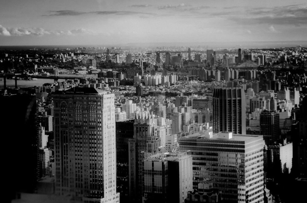 New York City mit Rollstuhl